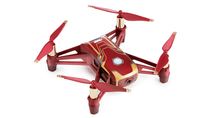 DJI en Ryze Tech presenteren Tello Iron Man Edition